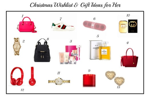 Gift Ideas And Christmas Wishlist For HER