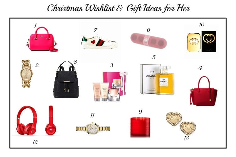 Gift Ideas And Christmas Wishlist For HER | Christmas Gifts