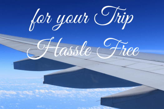 How to pack light for your trip…hassle free