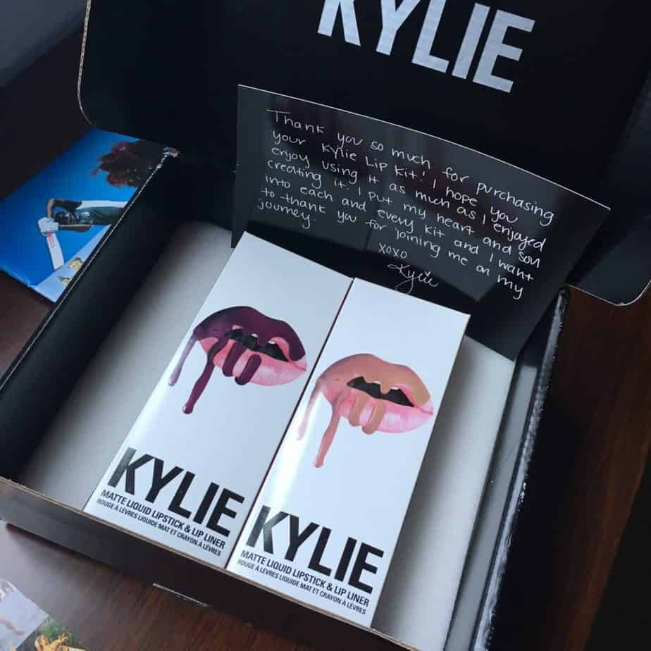Kylie Cosmetics Liquid Lipsticks Un-boxing and Review | Travel Beauty Blog