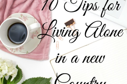 10 Tips For Living alone in a new Country | How to overcome the challenges