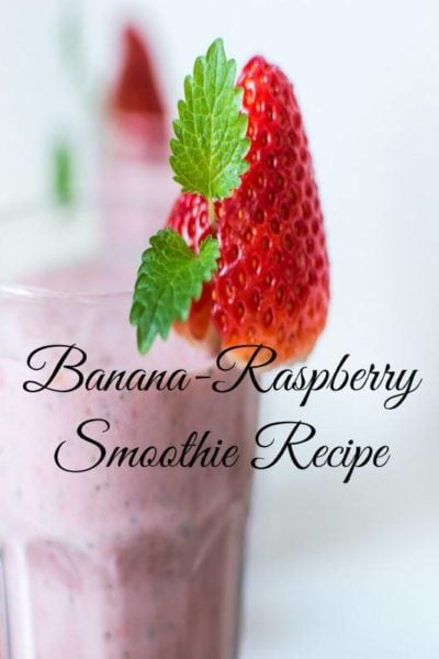 Banana Raspberry Smoothie