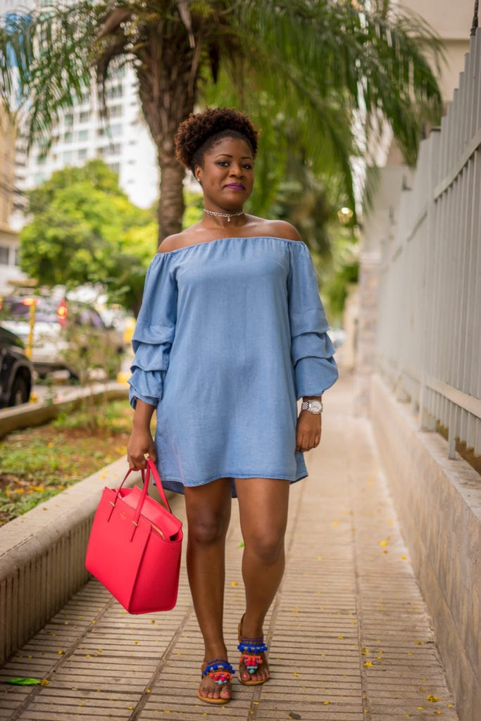 How to Make A Statement With Ruffled Bell Sleeves Dress