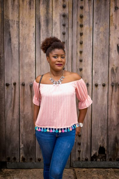 Tassel Trim Top   See How To Wear Your Tassel Trim Top With Confidence   Tassels   Pom Poms   Summer Fashion   Stripes