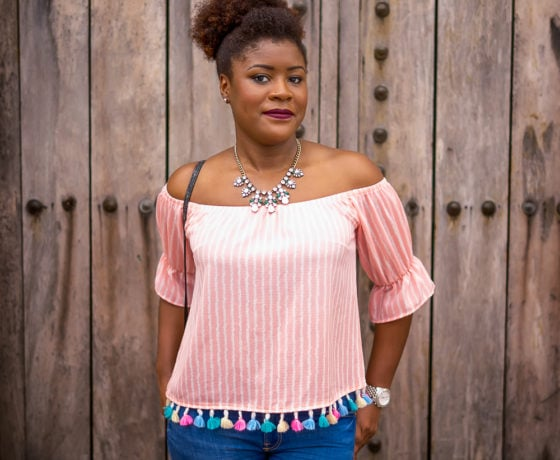 See How To Wear Your Tassel Top With Confidence