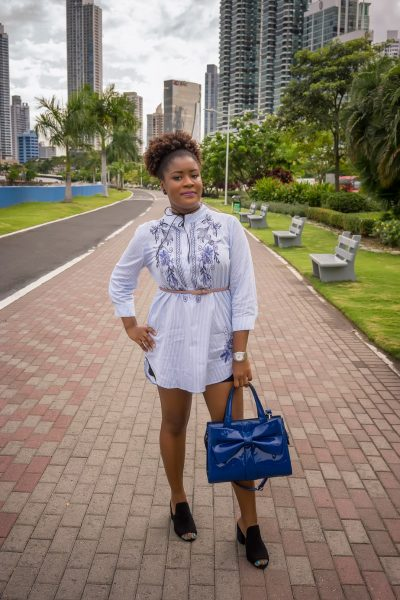 Embroidery And Stripes: All About My Latest Obsession   Stripe Dress   Shirt Dress   Summer Fashion   Embroidered Dress