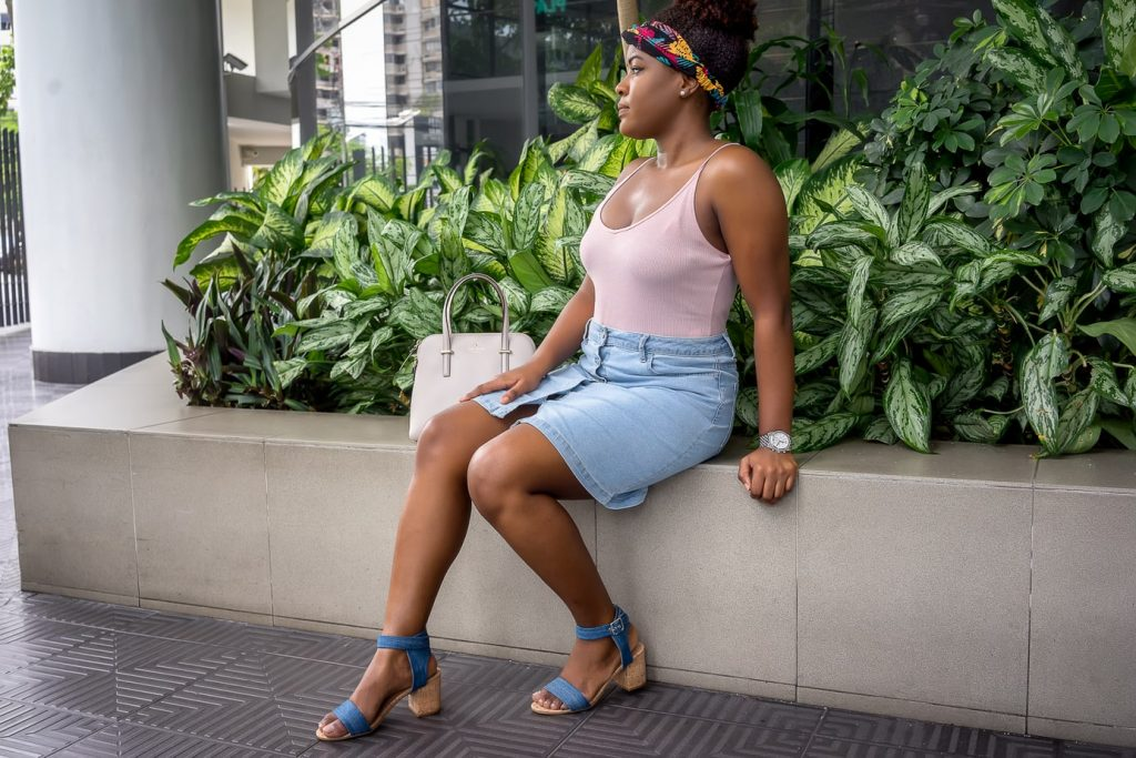 How To Be Comfortable And Stylish At The Same Time   Button-up Denim Skirt   Jeans Skirt   Summer Fashion Trends   Travel Beauty Blog
