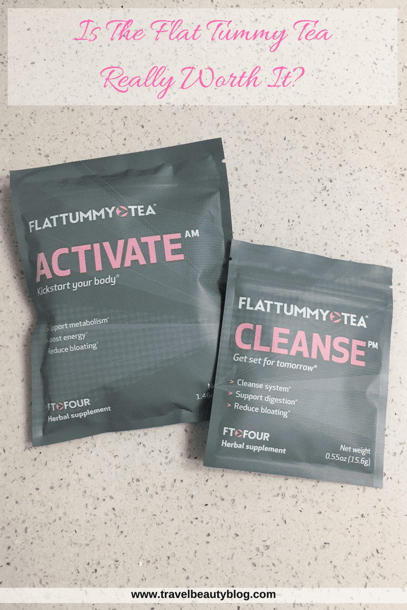 Flat Tummy Tea | Healthy Lifestyle | Activate | Cleanse | Mint Tea | Detox Tea | Flat Tummy Tea Review | Fit Tea | Travel Beauty Blog