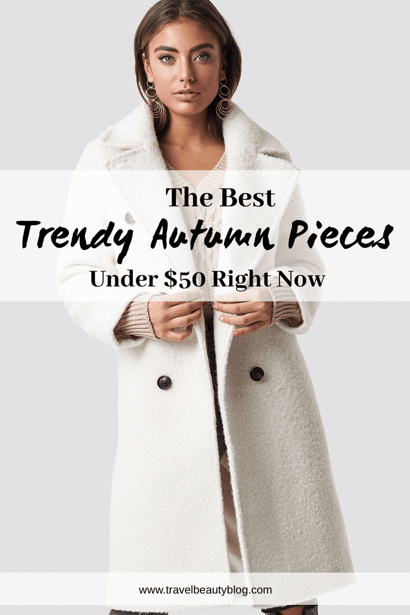 Its officially the season of everything pumpkin and now that NY Fashion Week is over I have rounded up the best autumn trendy pieces under $100 to take you through the season.