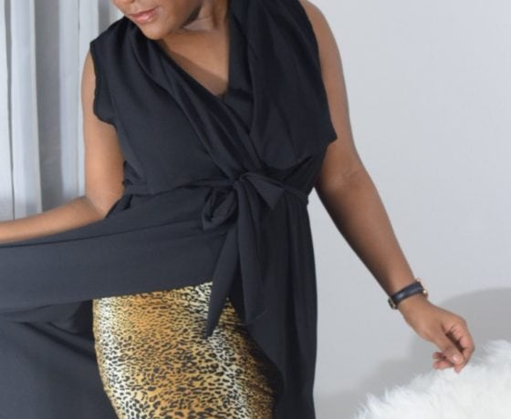 How To Elegantly Tone Down Your Animal Prints