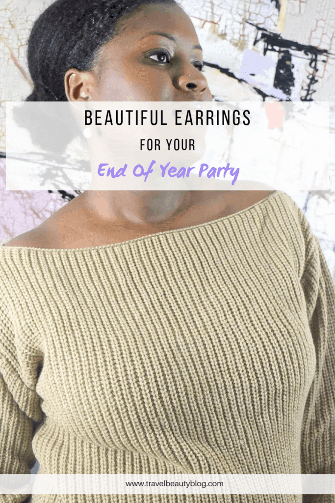Beautiful Earrings For Your End Of Year Party | Statement Jewelry | Pearl Earrings | Party Jewellery | Party Jewelry | Fashion Jewelry | Travel Beauty Blog