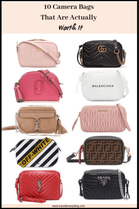 Camera Bags | The 10 Camera Bags That Are Actually Worth It | Gucci Bags | Designer Bags | Cross Body Bag | Travel Beauty Blog