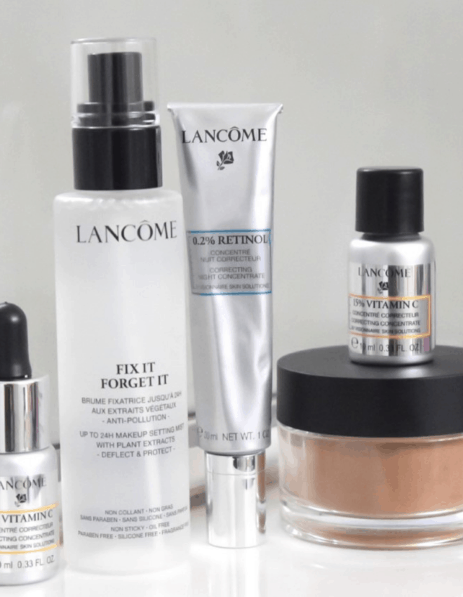 The Best Of Lancome Skin Care Solutions