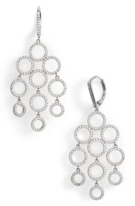 Chandelier Earrings | Nordstrom Winter Sale | Travel Beauty Blog