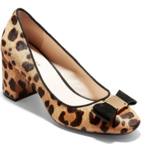 Cole Haan Animal Print Pumps | Nordstrom Winter Sale | Travel Beauty Blog