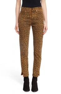 Saint Laurent Ankle Leopard Jeans | Nordstrom Winter Sale | Travel Beauty Blog