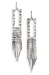 Crystal Drop Earrings | Nordstrom Winter Sale | Travel Beauty Blog