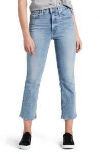 Mile High Crop Flare Jeans | Nordstrom Winter Sale | Travel Beauty Blog