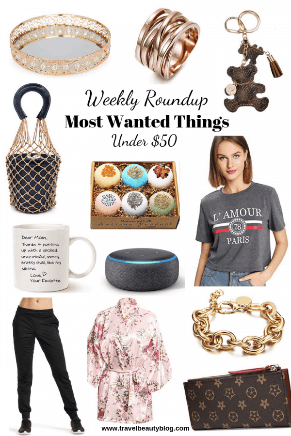 Roundup Of The Most Wanted Things Under $50 | Travel Beauty Blog | Most Wished For Items | Amazon Influencer | Amazon Finds | Amazon Associate