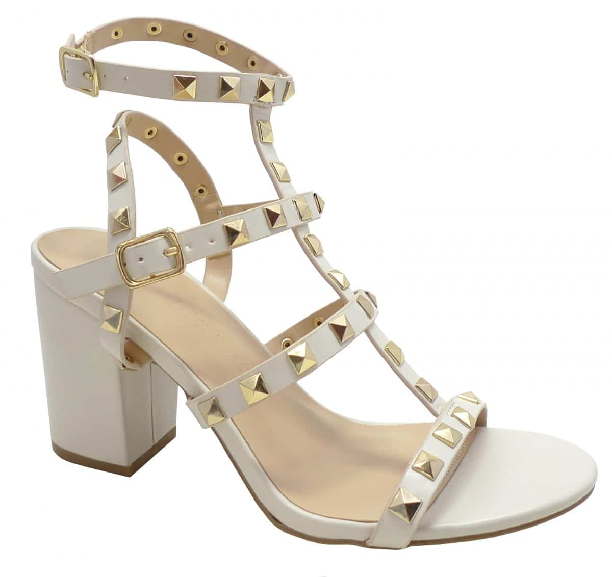 Valentino Dupe Studded Sandals