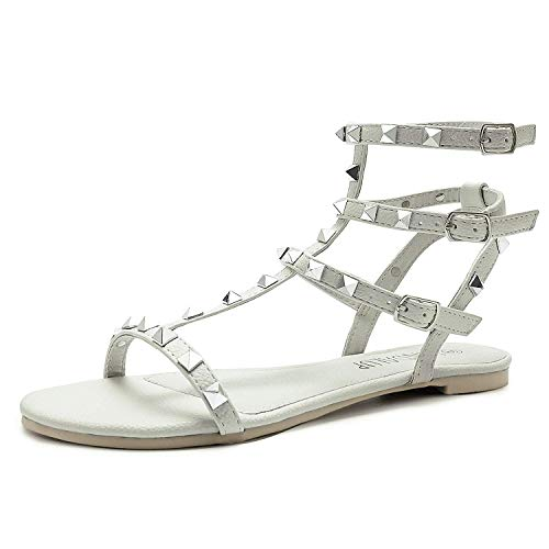 Valentino Dupes Strappy Studded Flat Sandals | Travel Beauty Blog