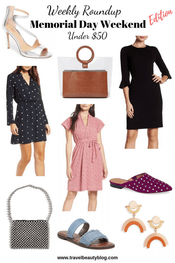 Memorial Day Weekend Roundup Of The Most Wanted Things | Travel Beauty Blog | Memorial Day Weekend 2019