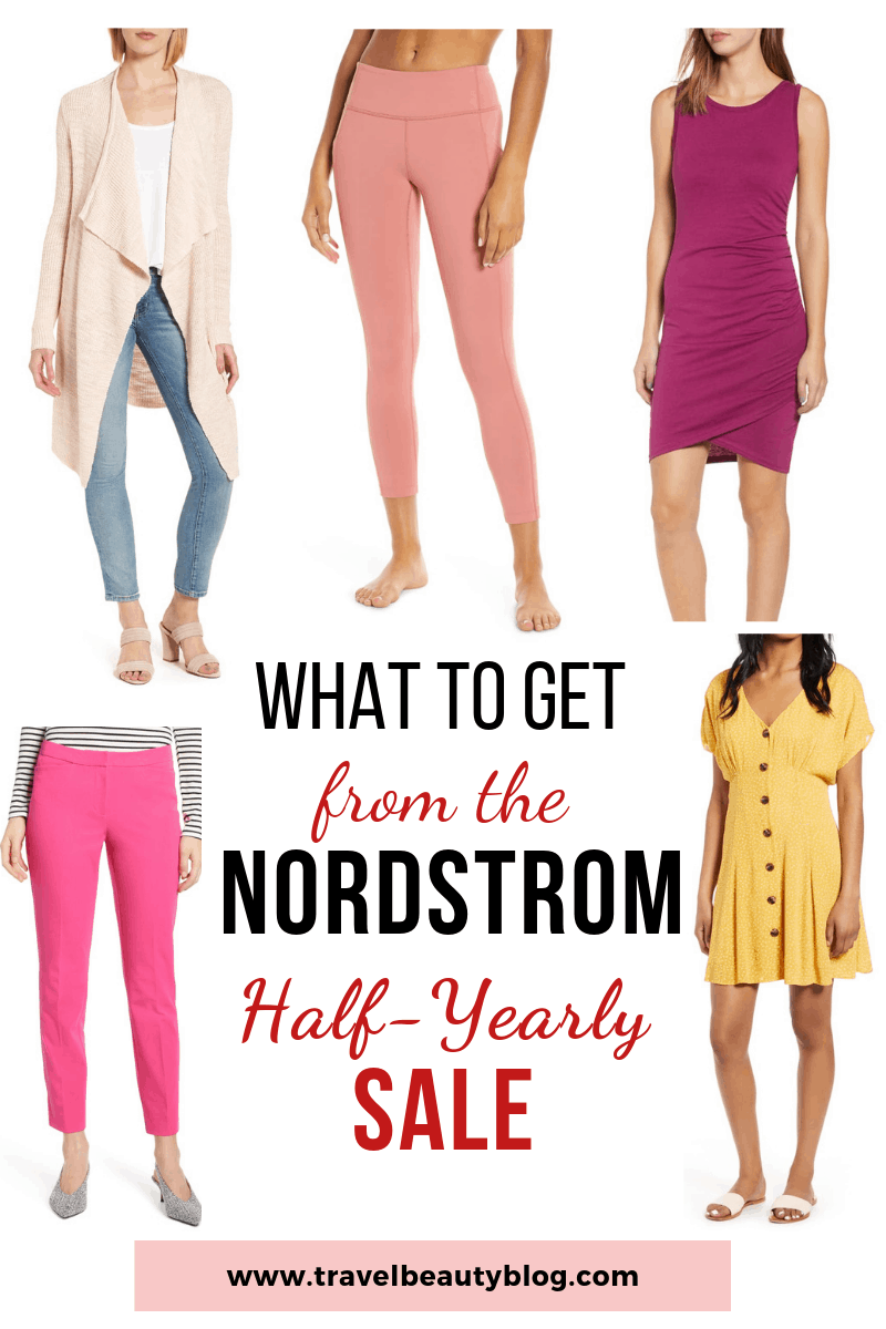 What To Get From The Nordstrom Half Yearly Sale 2019 | Travel Beauty Blog