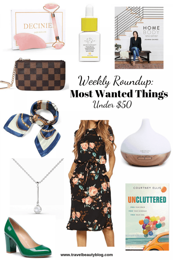 Roundup Of The Most Wanted Things Under $50