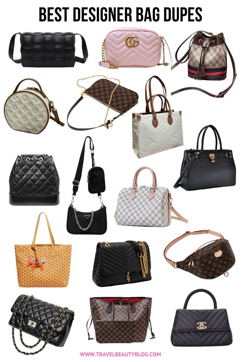 best designer bag dupes 2021 - travel beauty blog