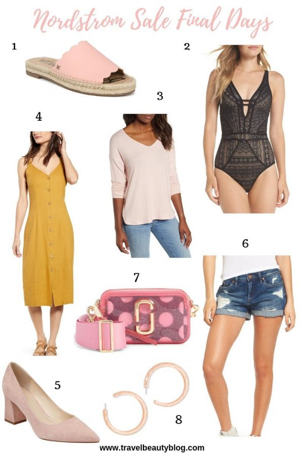 Nordstrom Sale Roundup Of The Most Wanted Things | Travel Beauty Blog | Nordstrom Half Yearly Sale | Nordstrom Sale | Summer Trends 2019 #summertrends2019 #summertrends #nordstromsale