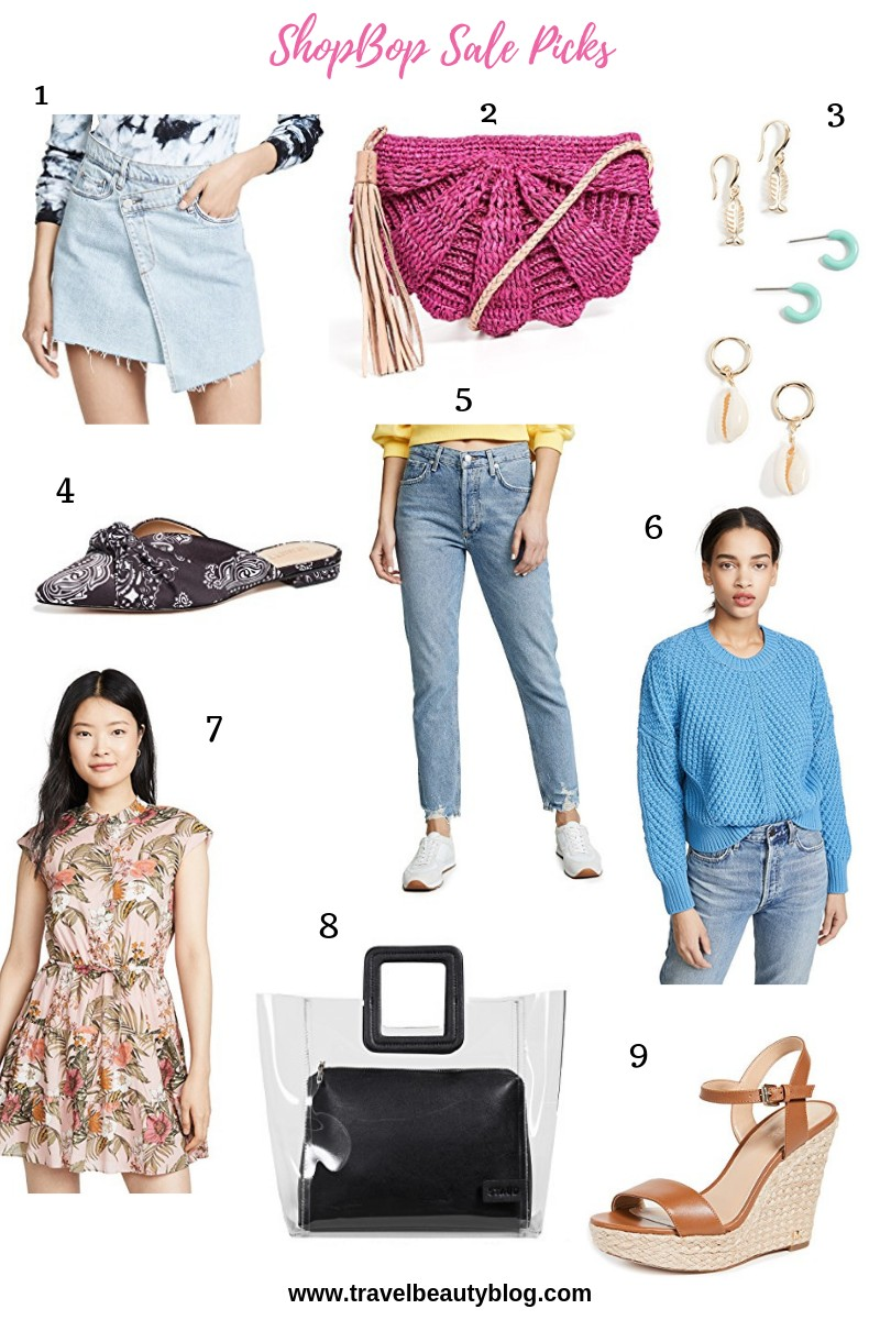 Shopbop Sale 2019 Favourite Picks - Travel Beauty Blog