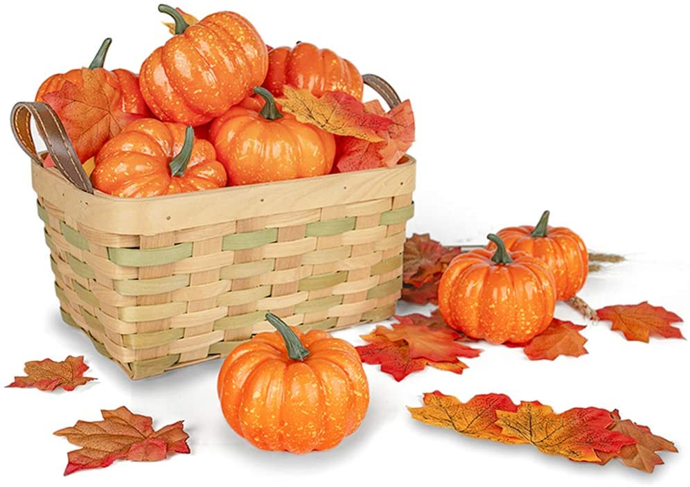 Artificial Pumpkins for Decoration