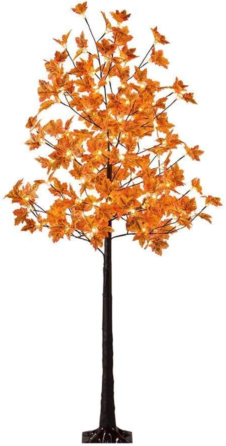 LED Lighted Maple Tree