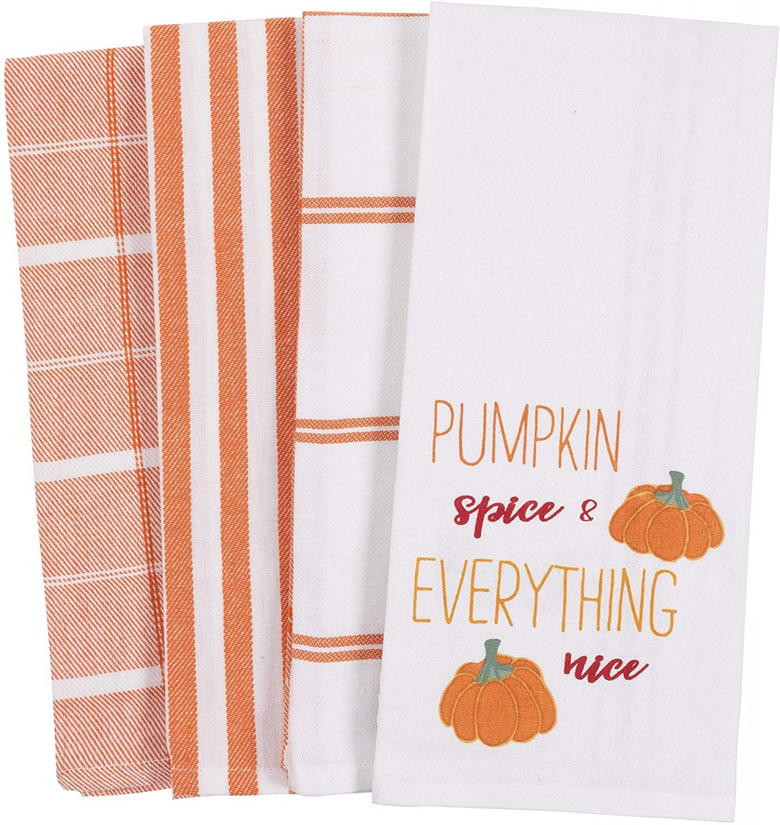 Pumpkin Spice Everything Nice Kitchen Towel Set