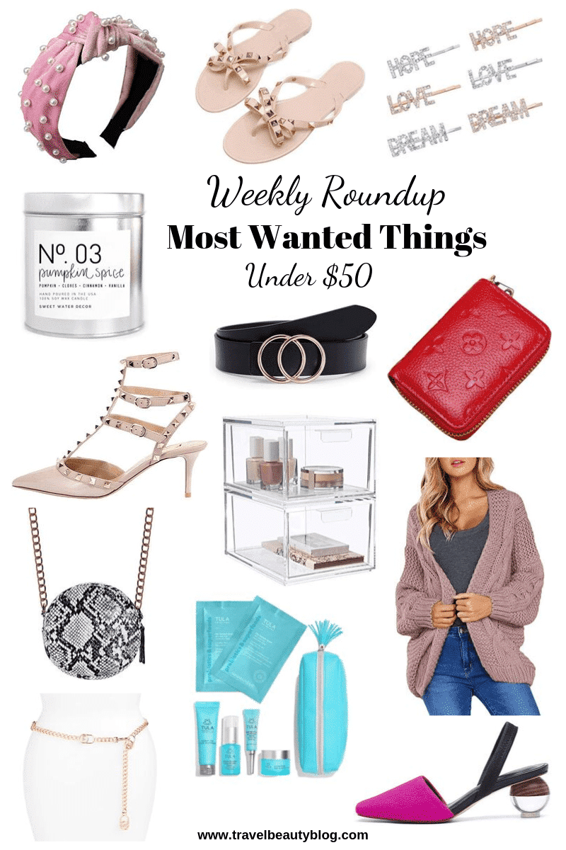 Roundup Of The Most Wanted Things On Amazon | Travel Beauty Blog