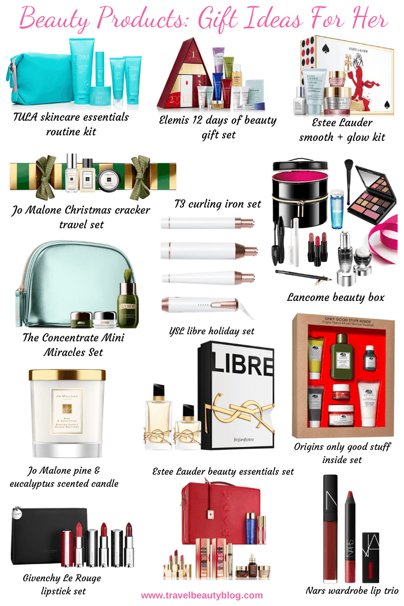 The Best Beauty Products Gift Ideas For Her | Travel Beauty Blog