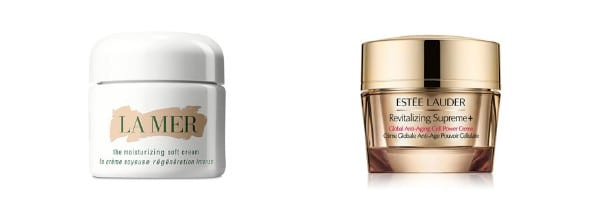 Skincare Dupes | Creme De La Mer vs Estee Lauder Anti Aging Cell Power Creme | Travel Beauty Blog