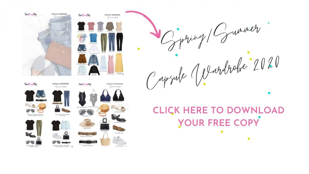 How To Make The Best Summer Capsule Wardrobe Easily | Spring Summer Capsule Wardrobe 2020 E-Book