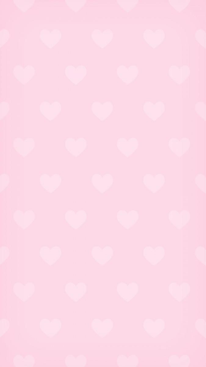 Cute Wallpaper Hearts Pink