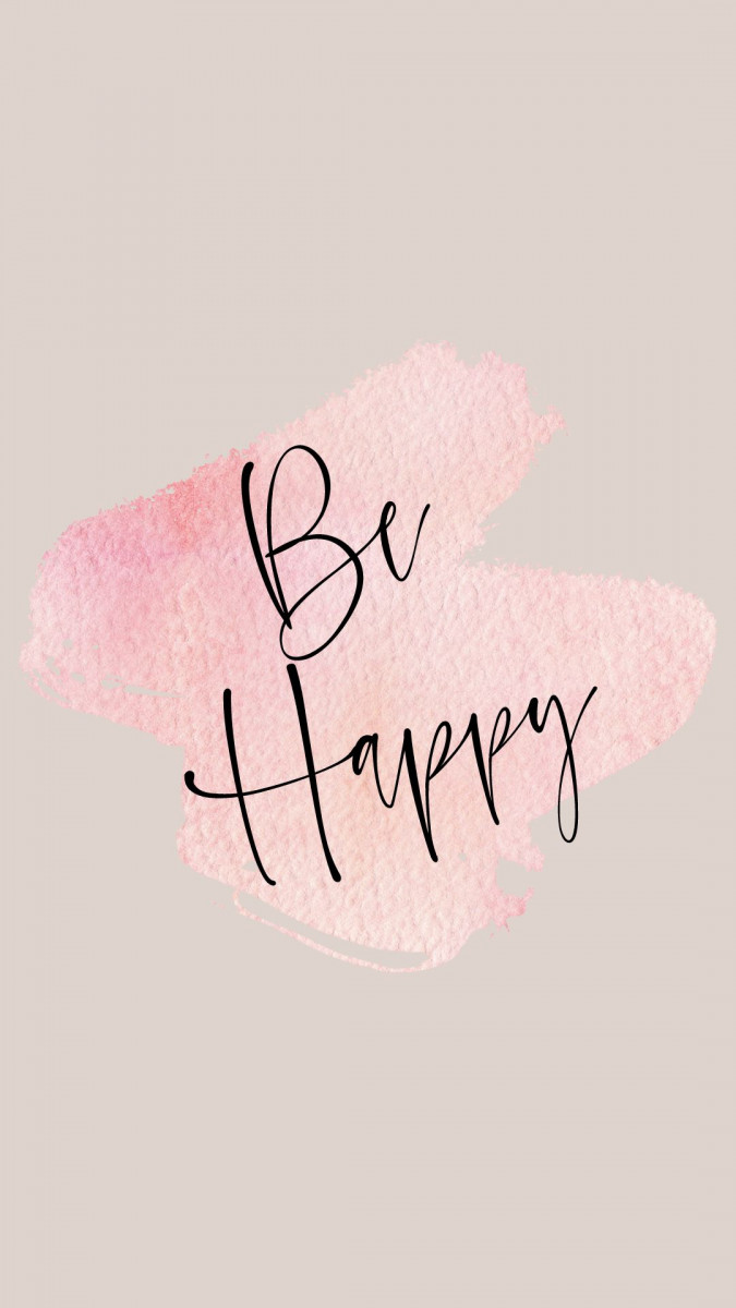 be happy iphone cute wallpapers