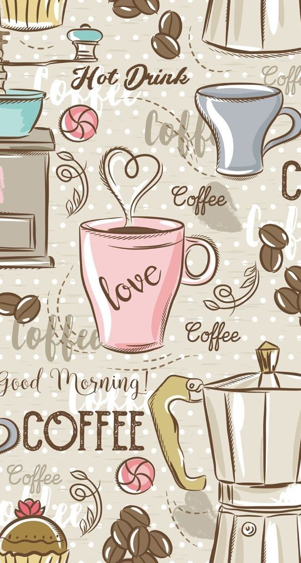 coffee morning cute wallpapers