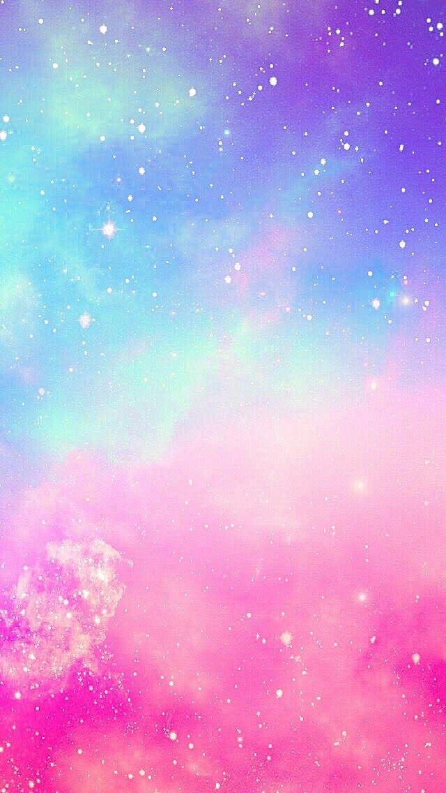colorful clouds cute wallpaper
