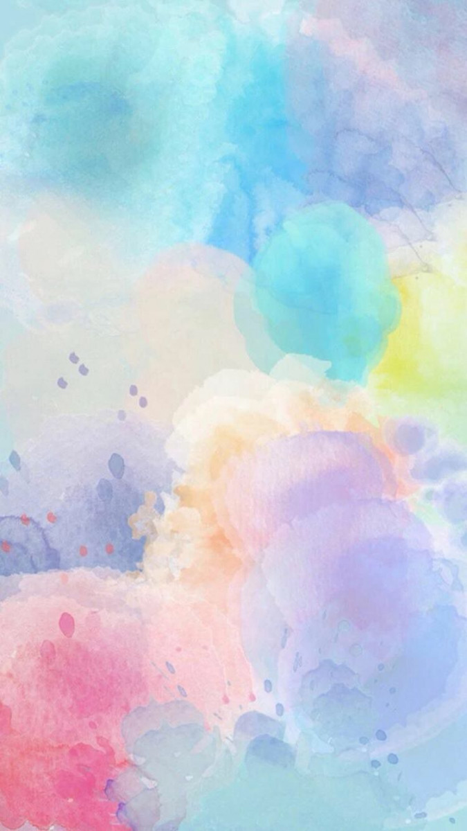cute wallpaper colorful clouds