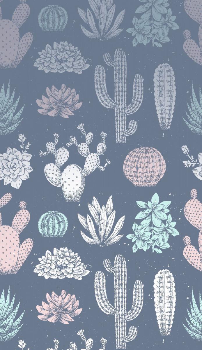metallic succulents cute wallpapers