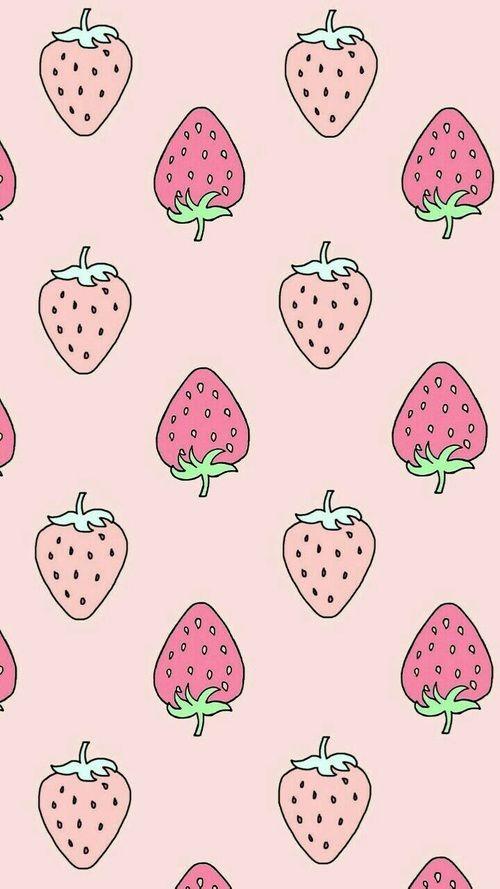 strawberries cute wallpapers