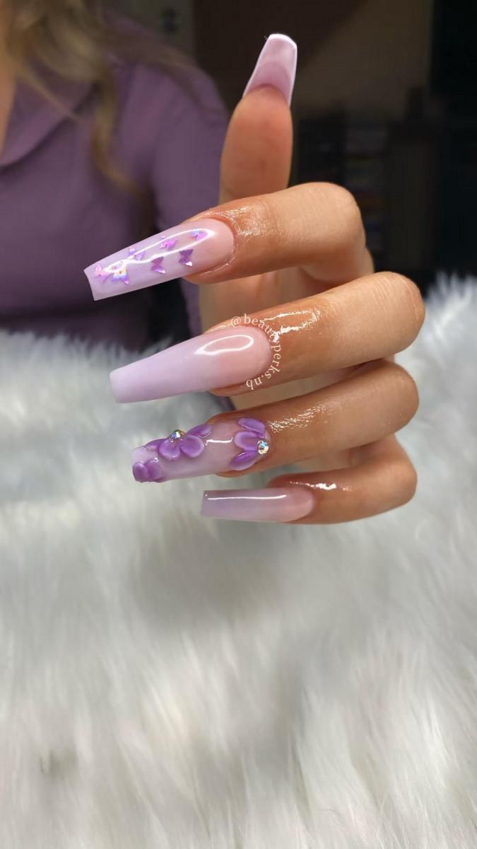 Purple Nail Ideas 2021